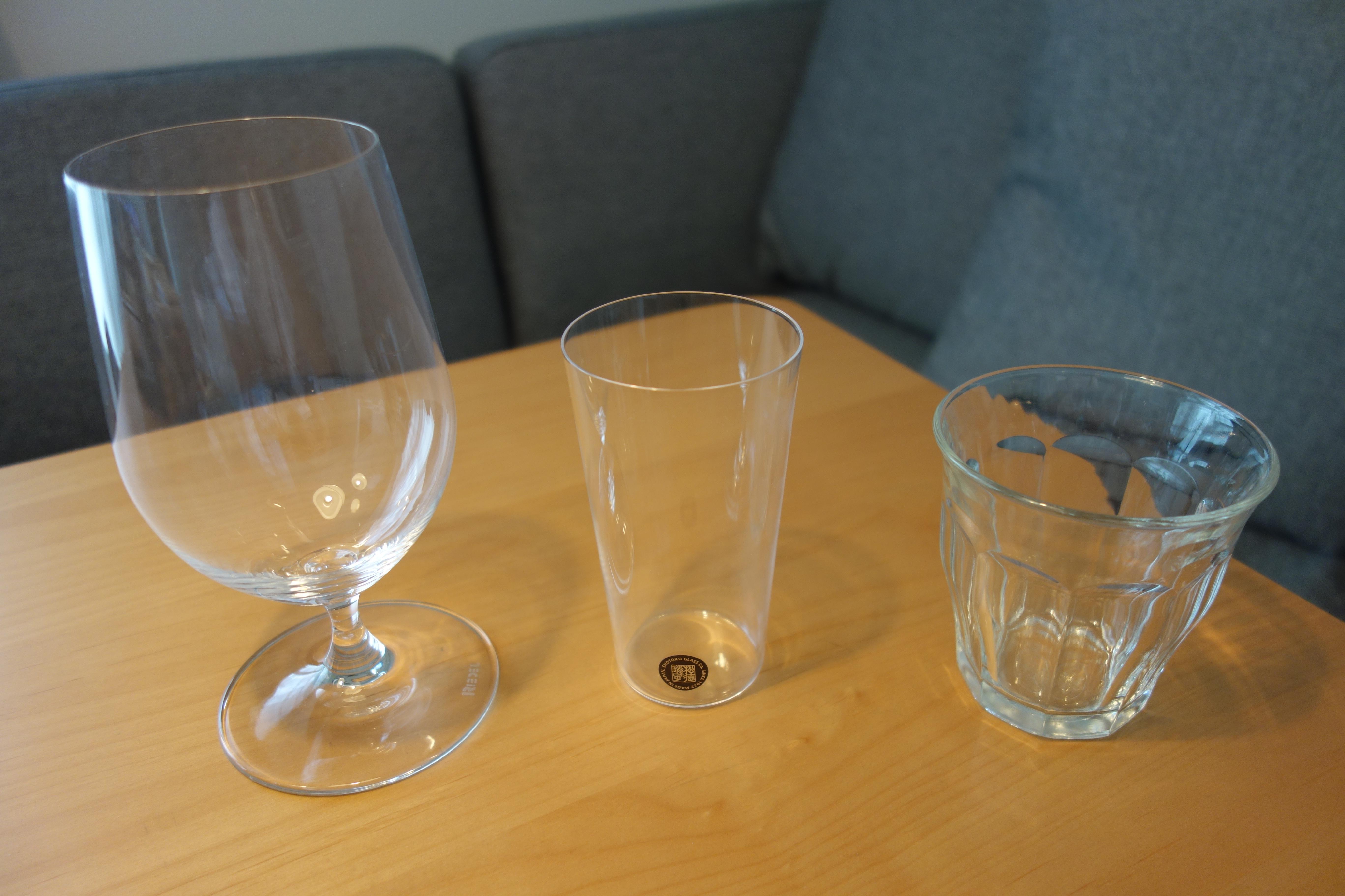 グラス比較