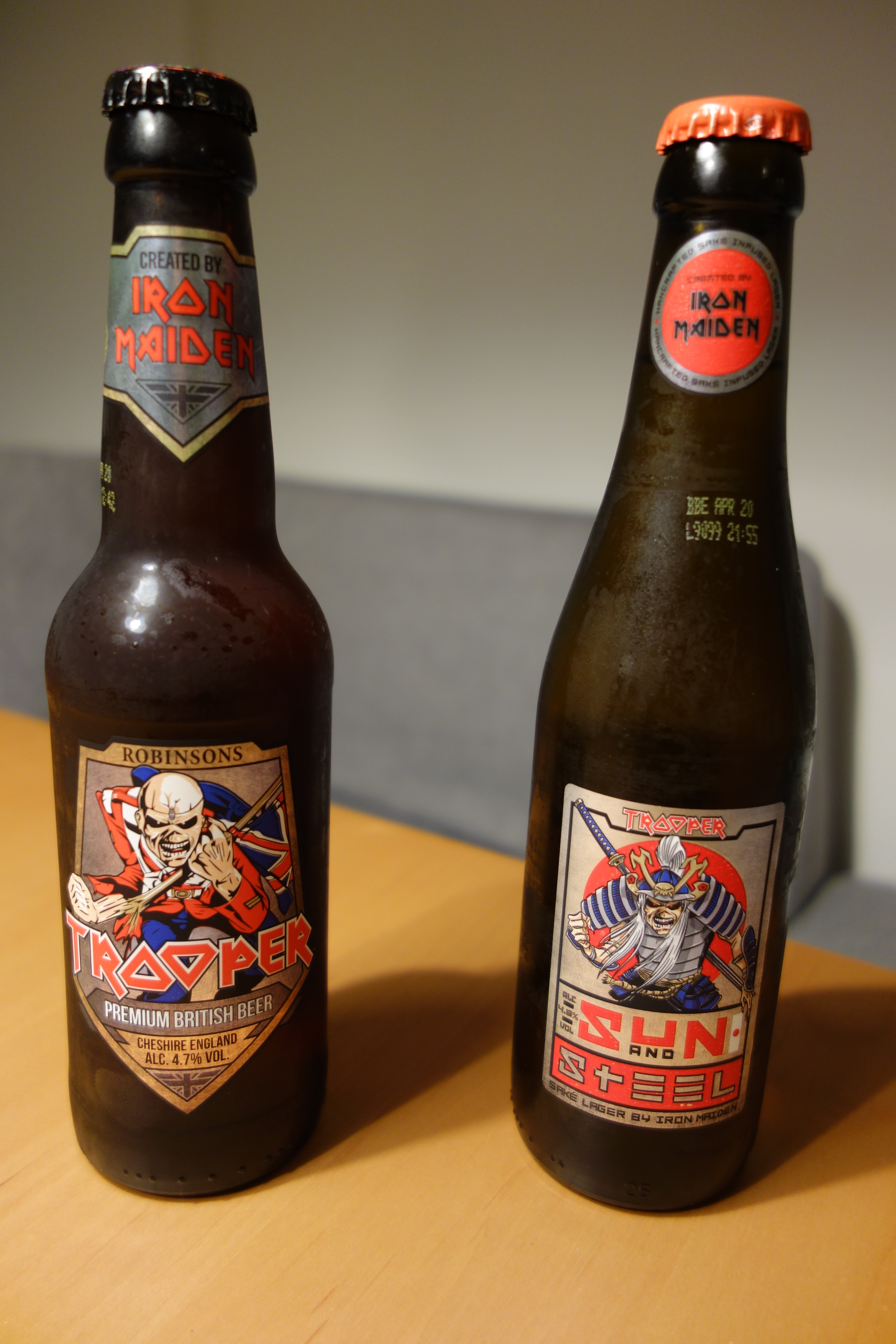 アイアン・メイデン公式ビール1