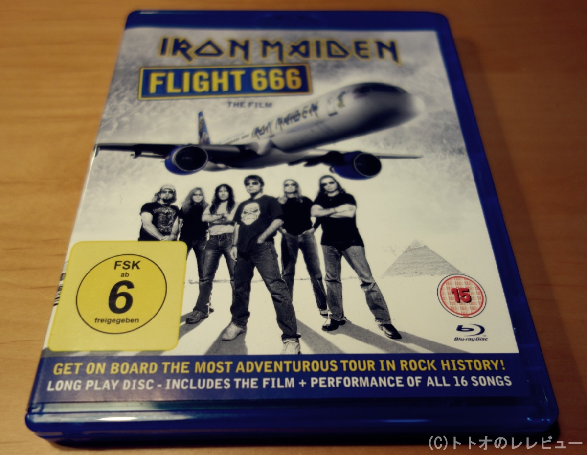 IRON MAIDEN FLIGHT 666 写真 ブログ用